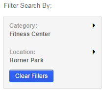 Filter for CPD Memberships Page