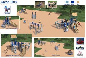 Jacob Playlot new equipment Option 2