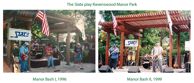 The Slate play Ravenswood Manor Park