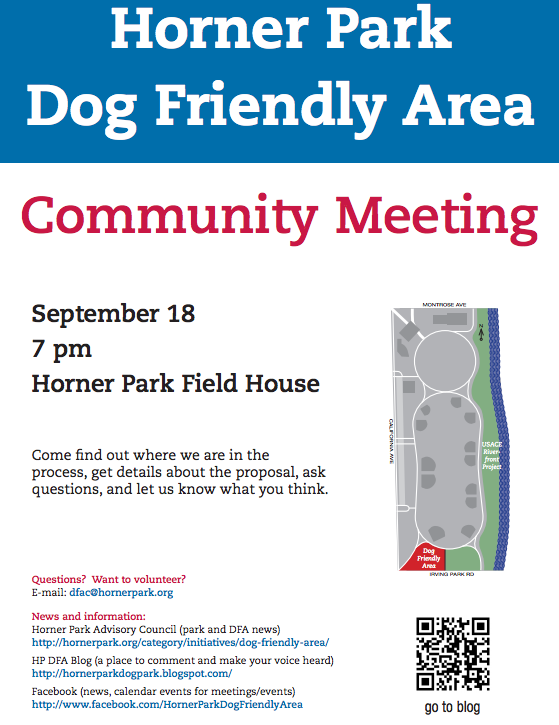 Dog Friendly Area Community Meeting